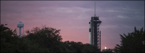 Poranek na Florydzie przed startem Crew-1
